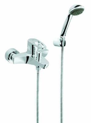 Grohe 33547001 Europlus - Miscelatore per vasca da bagno con doccetta