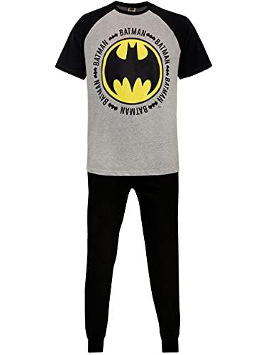 DC Comics Pijama para Hombre Batman Multicolor Large