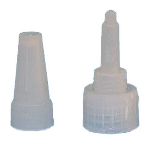 Sluiting oranje voor naaldfles voor secondelijm industriële lijm niet Din18 1x oranje