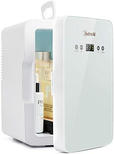 AstroAI Mini Fridge 6 Liter 8 Can Skincare Fridge for Bedroom with Upgraded Temperature Control product image