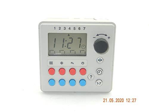 VIESSMANN 9519 249 A Digitalschaltuhr in Farbe: Weiß oder Grau-Schwarz, passt für VIESSMANN Trimatike, Trimatik MC und Duomatike sowie andere Hersteller von Regelgeräte,unbenutztes Ersatzteil