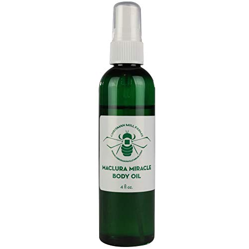 Chrisman Mill Farms - Miracle Body Oil Spray, Rich in Antioxidants and Vitamin E Skin Moisturizer, Best Treatment for Dry Skin, Eczema, Acne, Scars, Stretch Marks and Psoriasis, 100% Organic Spray