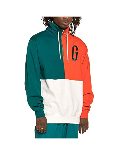 GRIMEY M-Sudadera Midnight G Logo High Neck Sweatshirt SS19 Green
