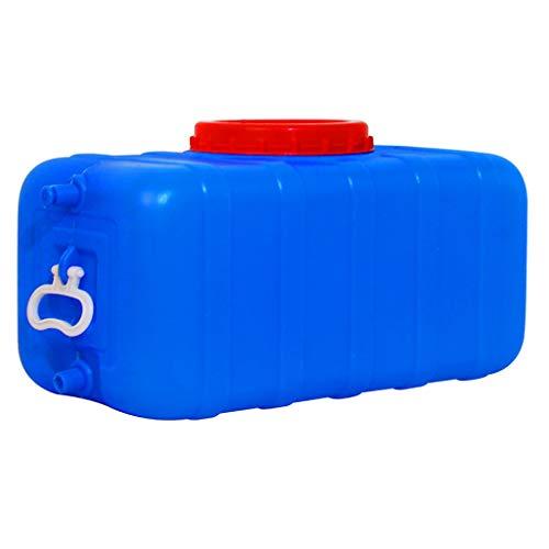 MORN Deposito Contenedor de Agua de Plástico HDPE, Tanque de Agua Grande para Acampar, Cubo de Depósito de Agua Grande, Tanque de Almacenamiento, Varios Tamaños Disponibles