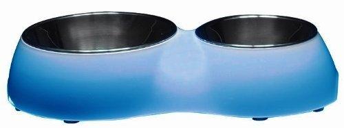 Dogit Double Diner, bleu par Dogit
