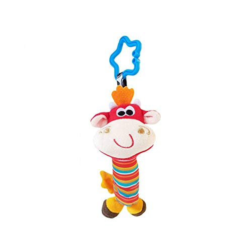 Mryishao Hochet de litBaby Lernspielzeug Baby Autositz Hängende Glocke Rasseln Baumeln Spielzeug Set Kinderbett Kinderwagen Baby Rasseln Mobile Handbell