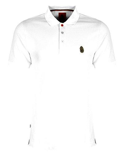 Luke 1977 Williams White Pique Polo Shirt-XXL