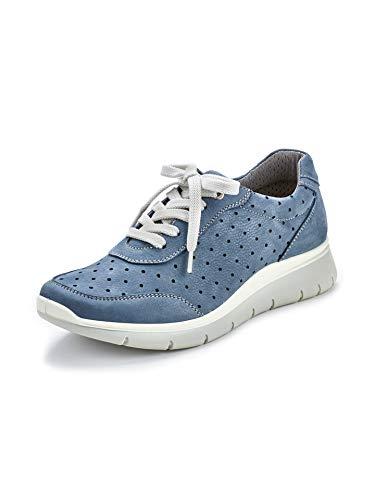 Avena Damen Wohlfühl-Klima-Sneaker Blau Gr. 39