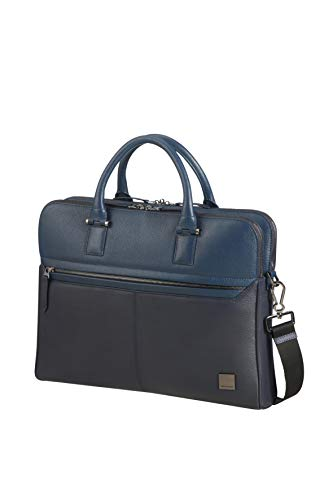 SAMSONITE Senzil - Slim Aktentasche, 38.5 cm, 11 Liter, Blue