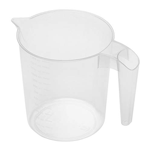 Chef Aid Measuring Jug, 1.3 Litre, Microwave and Dishwasher Safe, Ideal for baking and cooking