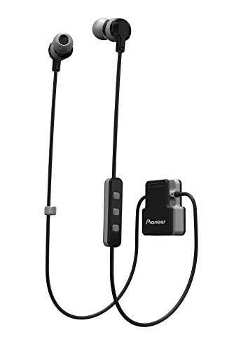 Pioneer SE-CL5BT-H - Auricular Deportivo (Bluetooth, micrófono Integrado) Color Gris