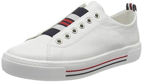 Remonte Damen D0905 Slip On Sneaker, Weiß (Weiss 80), 43 EU
