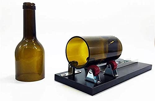 Lámpara de pared simple y fresca Juego de herramientas de cortador de botellas de vidrio, botellas de vidrio, kit de corte fuerte para bricolaje de cristalería, lámparas, jarrones, candelabros