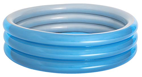 Bestway 51043 Piscine gonflable ronde Big Metallic 3 boudins 201 x 53 cm