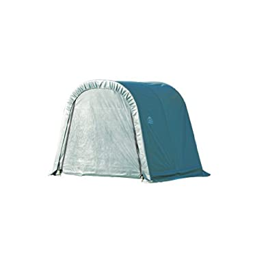 ShelterLogic 77804 Green 10'x8'x8' Round Style Shelter