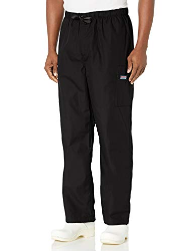 Cherokee Men's Originals Cargo Scrubs Pant, Black, Large