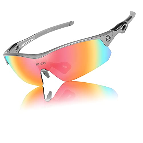 DUCO Polarized Sports Cycling Glasses