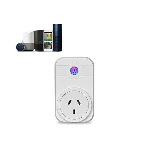 VLERHH Smart Home Wifi Smart Socket medidor de potencia de...
