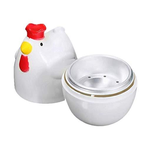 Bopfimer KüKenffRmig 1 Gekochtes Ei Dampfgarer Dampfgarer Stoessel Mikrowelle Eierkocher Kochutensilien Kuechenhelfer Zubehoer Werkzeuge