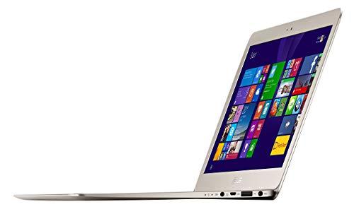 Asus ZenBook UX305FA 13-inch HD Ultrabook UX305FA-RBM1-GD, Intel Core M-5Y10, 8GB RAM, 256GB SSD, Windows 8.1, (Titanium Gold) (Renewed)