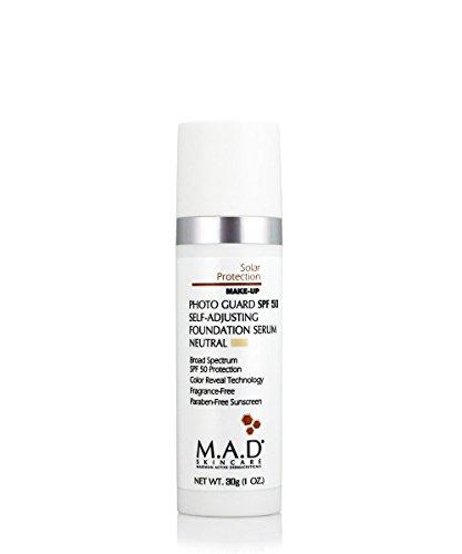 M.A.D Skincare Photo Guard SPF 50 Broad Spectrum Self-Adjusting Foundation Serum - Neutral - by Maximum Active Dermaceuticals