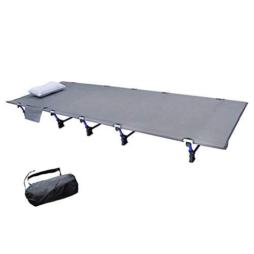 FACAZ Cuna Plegable para Acampar al Aire Libre Cuna Plegable para Adultos, Cuna portátil para Uso en la Oficina del Campamento, Cuna de Gran tamaño Que admite una Cama para Dormir de 300 Libras