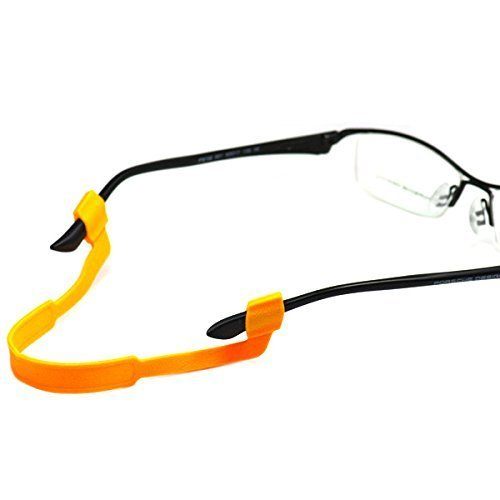 Fletion Pack of 6 Sport Safety Anti-slide Thickness Sunglasses Universal Fit Rope Eyewear Retainer Strap Eyeglasses Cord Lanyard Holder Glasses Accessories Random Colors for shipping