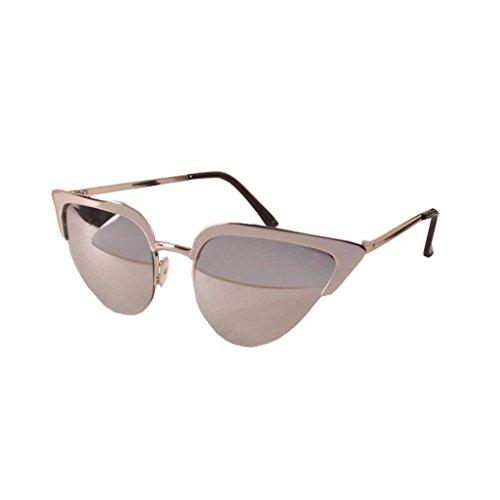 Tansle Damen Sonnenbrille, Silber
