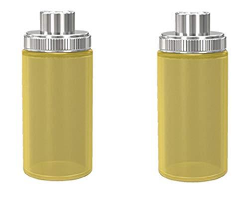 Wismec Luxotic Silikonflasche Sqounker Flasche 2 x (Bernstein)