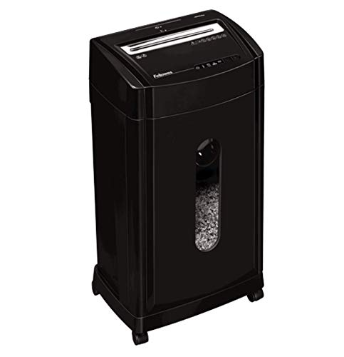 46Ms 12-Sheet Micro-Cut Heavy Duty Office Paper Shredder with Auto Reverse Jam Prevention Feature and SilentShred Technology (4817001-99)