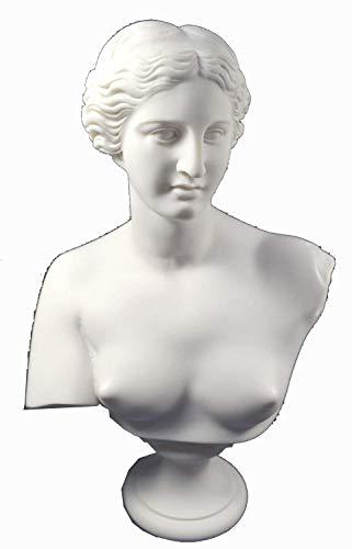 Estia Creations Aphrodite Skulptur Venus Statue Göttin der Liebe Große Brustumfang