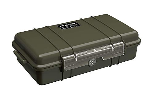 Pelican 1060 Micro Case - for iPhone, GoPro, Camera, and More (OD Green)