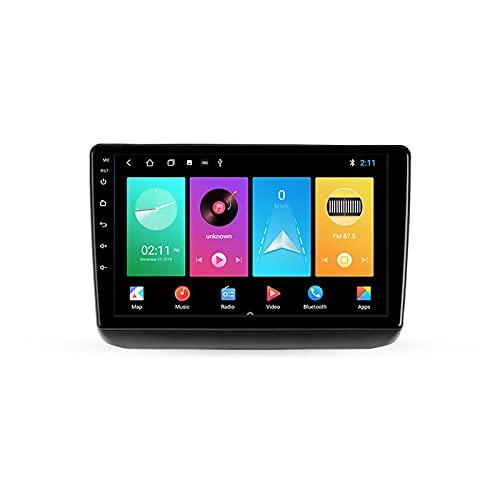 Android 10.0 Car Stereo Double DIN Radio para J-eep Grand Cherokee WK2 2013-2020 Navegación GPS Reproductor Multimedia 9 Pulgadas Receptor Video Bluetooth con 4G/5G WiFi SWC DSP USB Carplay