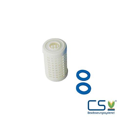 CS Bewässerungssysteme GmbH Filtereinsatz 60 Micron Nylon für 5 Zoll Wasserfilter Gehäuse