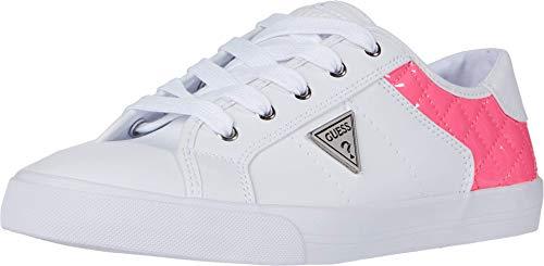 GUESS Comly, bianco (Infradito colorati estivi, con finte perline), 41 EU