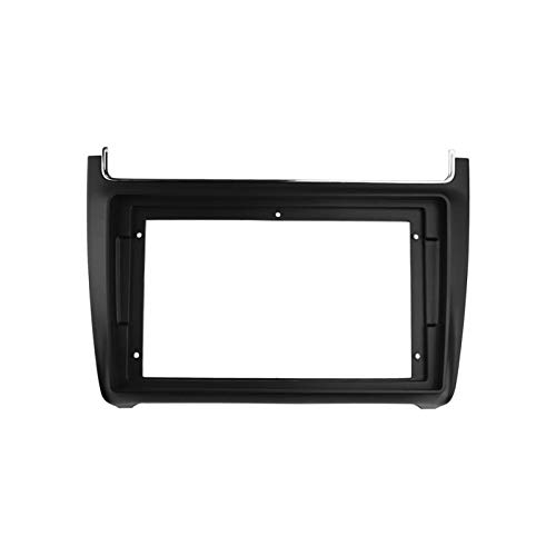 benliestore Radio Fascia Fit para Volkswagen Polo 2014 Android Player Frame Cover Stereo GPS Panel Dash Instale Surround Tipo Kit Placa de Cara