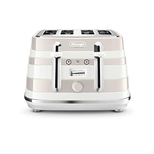De'Longhi Avvolta CTA4003.R Herumwickeln Design Toaster - weiß