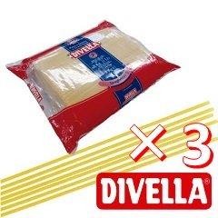 【ケース購入】ディヴェッラ スパゲッティーニ(No.9)5kg×3袋(業務用)