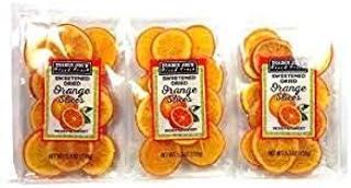 Trader Joe's Sweetened Dried Orange Slices (Pack of 3)