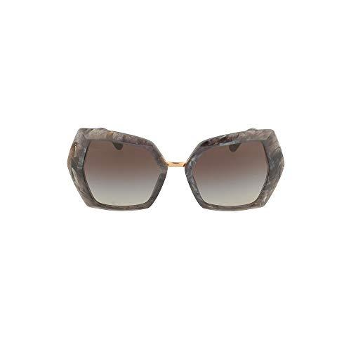 Dolce & Gabbana Gafas de sol para mujer DG4377, 32518G, 54