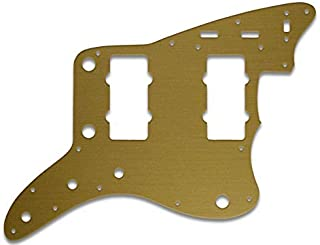 Pickguard For Fender Jazzmaster US Reissue - SIMULATED GOLD ANODIZED (PLASTIC)