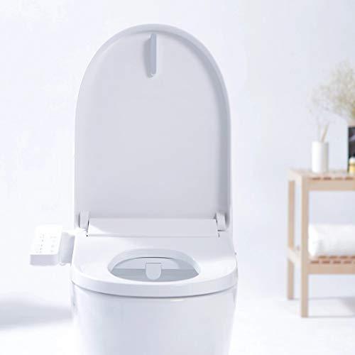 Generic SMARTMI Multifunctional Smart Toilet Seat Covers LED Night Light 4-grade Adjust Electronic Bidet