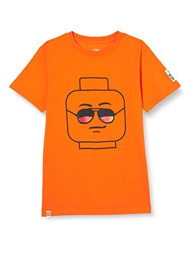 LEGO Jungen MWb T-Shirt, 338 Orange, 140
