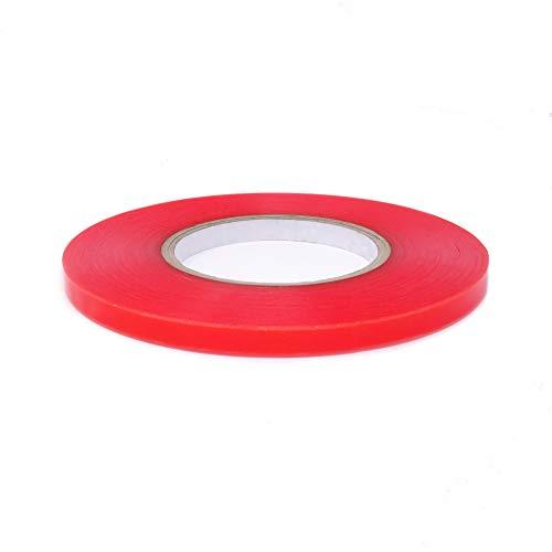 gws Doppelseitiges Klebeband Premium-Qualität extra stark haftend   universell einsetzbares Montageband   transparent   versch. Breiten 6-50 mm   Länge 50 m (1 Rolle – 9 mm breit)