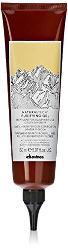 Davines NaturalTech Purifying Gel, Trattamento per cute con forfora grassa o secca, 150ml