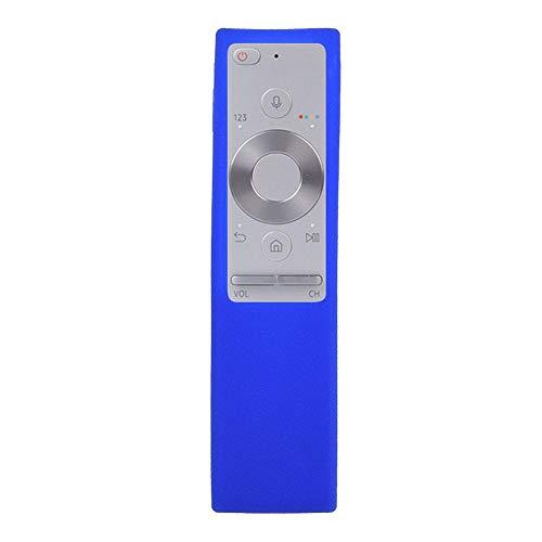 Funda de Silicona para Samsung BN59-01220G TV Control Remoto, Cubierta Protectora a Prueba de Polvo a Prueba de Golpes Material Agradable para la Piel(Azul)