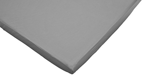 Read About American Baby Company 100% Cotton Value Jersey Knit Fitted Portable/Mini Sheet (2, Gray)