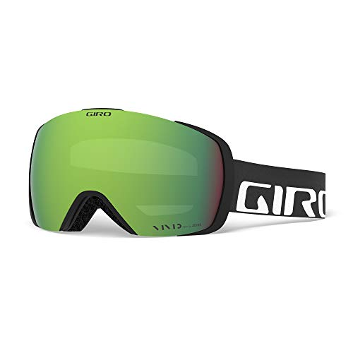 Giro Unisex-Adult Contact Skibrille, Black Wordmark, L