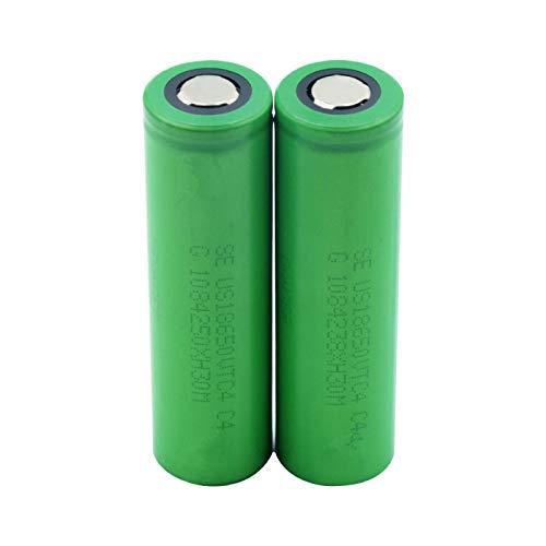 NHFGJ 1/2/4/6/8/10 Piezas 3,7 v 2600 mAh VTC5 18650 reemplazo de batería de Iones de Litio para Cigarrillo electrónico Vape Linterna Power Bank Radio Gamepad 2pieces