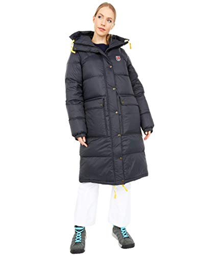 Fjällräven Expedition Long Down Parka W, Damen L Schwarz